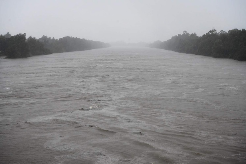 wide stretch of water