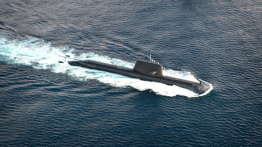 HMAS Dechaineux participating in Exercise Kakadu 2010 off the coast of Darwin.
