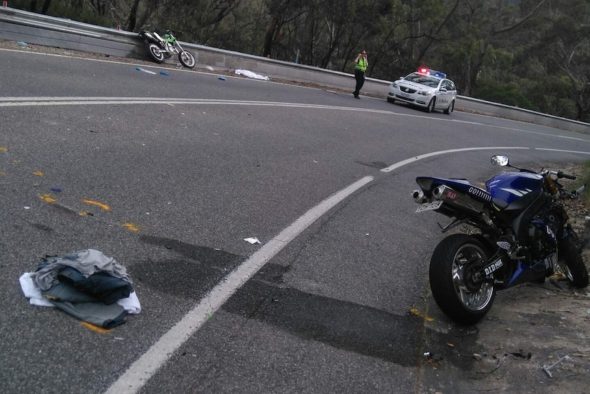 Fatal motorcycle accident at Paracombe