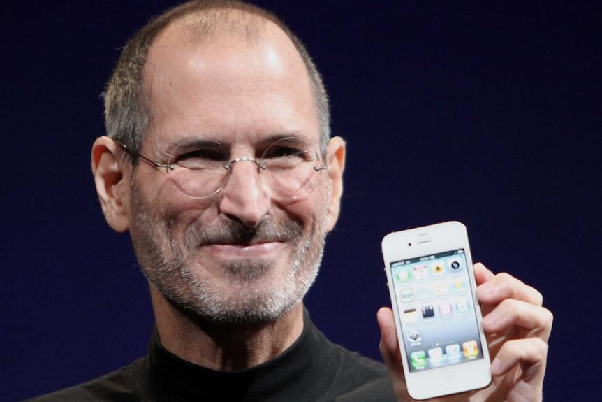 Apple co-founder Steve Jobs in 2010.
