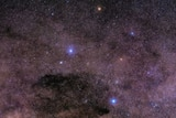 Widefield view of the Southern Cross and surrounding constellations
