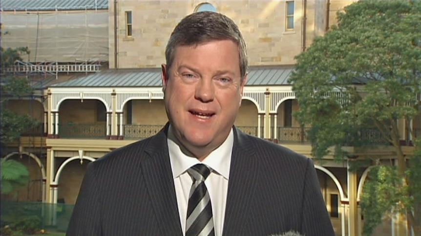 Qld Treasurer Tim Nicholls speaks with ABC News Breakfast