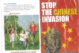 Anti-Chinese investment leaflet