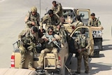 Afghan forces prepare to launch an operation to retake the city of Kunduz