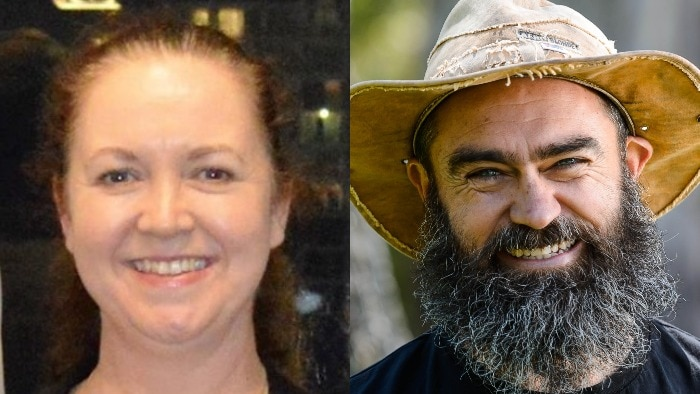 Composite image of former Greens candidates Cate Mussared and Matt Farrell.