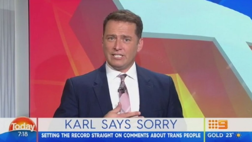 """Karl Stefanovic: """"I can be a complete tool. Yesterday, I was worse, I was an ignorant tool."""""""