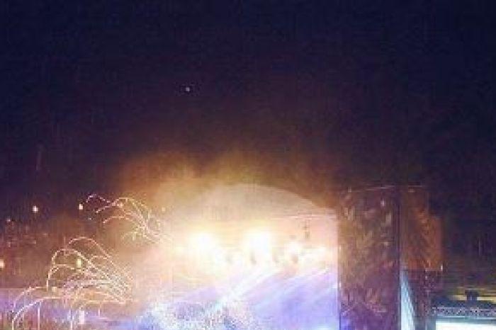 Falls Festival crowd at concert generic image