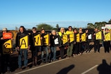 Shed 26 protesters