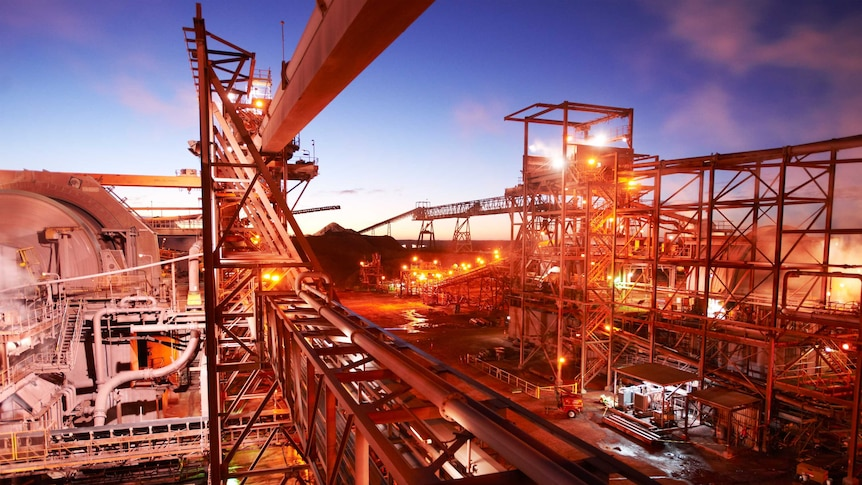 Operations at BHP Billiton's Olympic Dam in South Australia