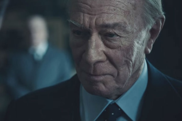 Christopher Plummer playing J Paul Getty in All the Money in the World.
