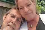Andrea Bullock with her husband, Danny Bullock before he died