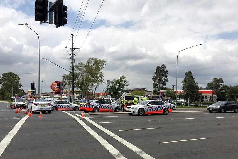 Shooting at Hungry Jack's
