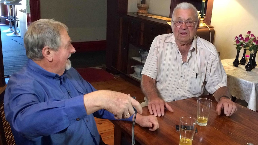 One man's heartbreak after losing mate who spoke his language.
