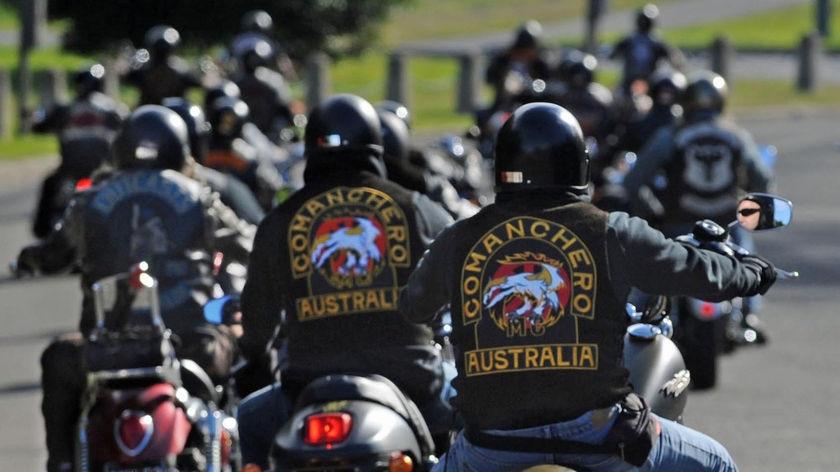 Bikies gather for Legalise Freedom ride