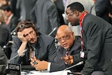 Delegation members from Lesotho
