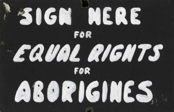Sign from 1967 referendum