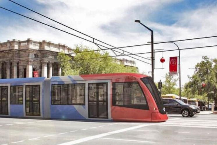 artist image of North Terrace tram