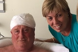 Bourke Street stabbing victim Rodney Patterson and his wife