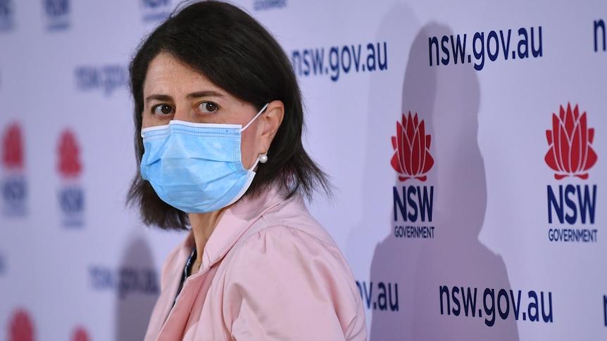 NSW Premier Gladys Berejiklian at Sunday presser