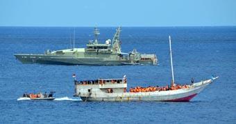 Asylum seeker boats intercepted
