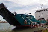 Investigator - ship used on King Island fright run