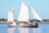 Historic pearling lugger, the Intombi