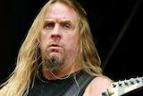Jeff Hanneman of Slayer performs in 2005.