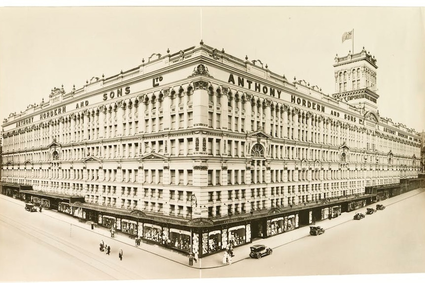 Exteriors of the Anthony Hordern and Sons department store, 1901-1938