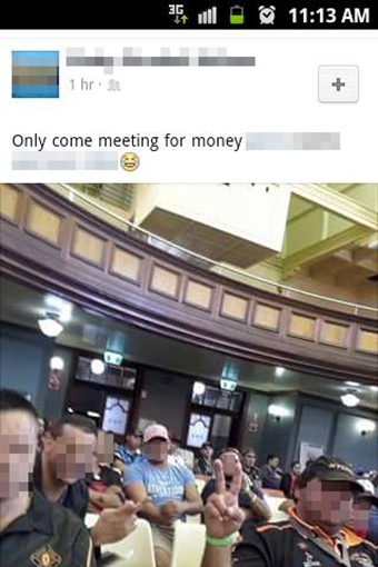 A social media post tendered as part of a federal court trial over the validity of an Adani deal.