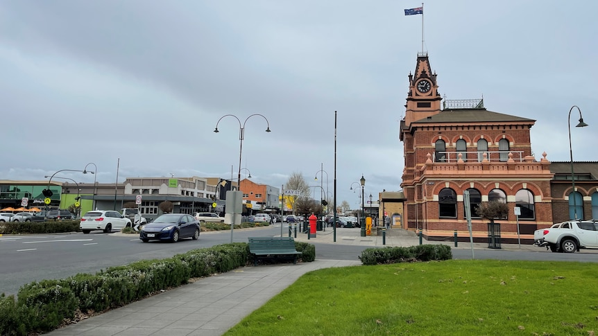 Traralgon post office town centre