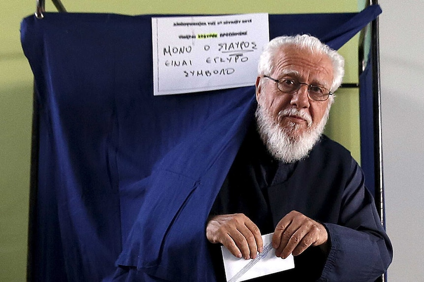 Greek referendum to decide eurozone status