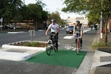 city cyclists in Adelaide