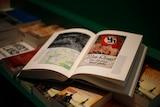 Hitler's Mein Kampf in a bookshop