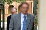William Peter Standen leaves court