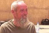 Dutch hostage Sjaak Rijke after his release in Mali