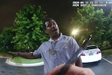 Screen grab taken from body camera video provided by the Atlanta Police Department shows Rayshard Brooks.