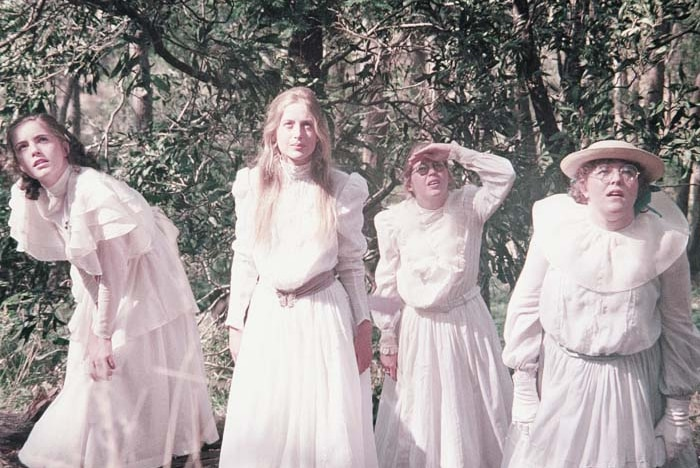 A scene from 1975 film Picnic at Hanging Rock.