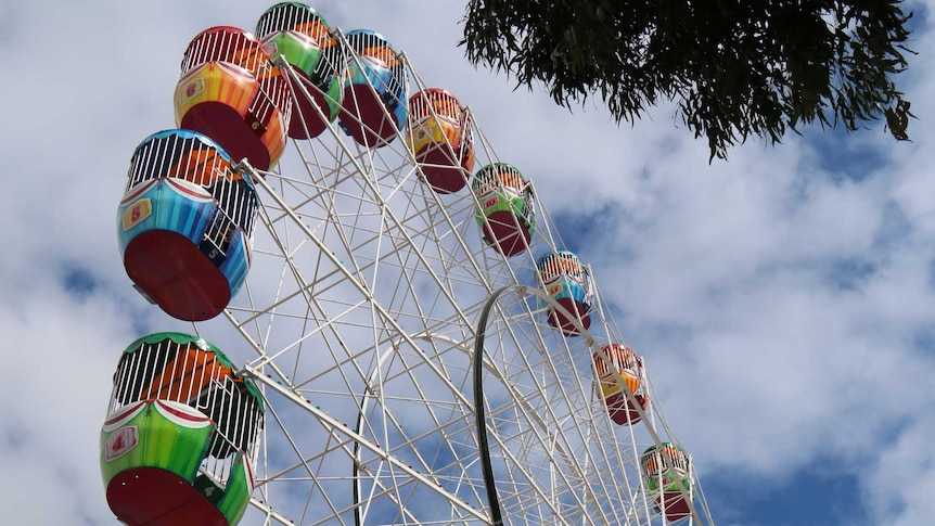 Ferris wheel as the Royal Adelaide Show