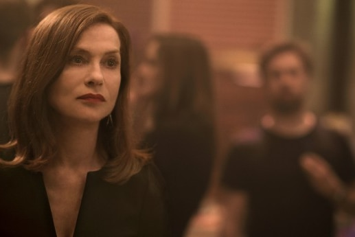 French actress Isabelle Huppert plays Michèle