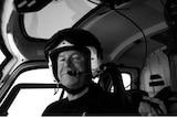 Chopper pilot David Wood