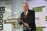 Scott Morrison's Bloomberg address