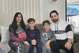 Ehab Hadi and family