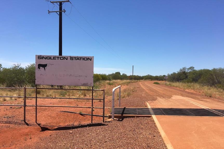 Singleton Station in Central Australia