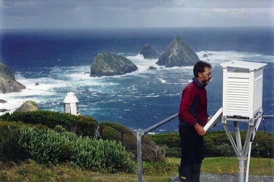 Maatsuyker Island Weather Observation station