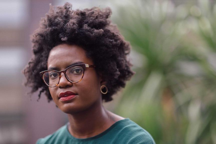 A portrait of journalist and blogger Reni Eddo-Lodge.