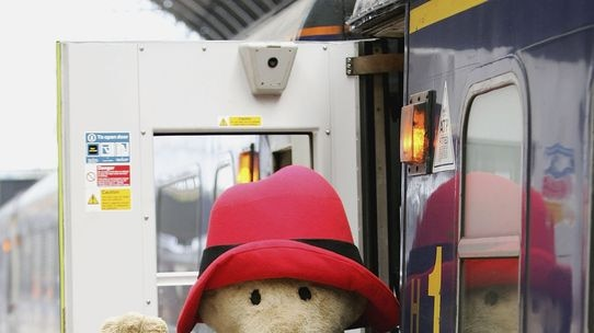 In 1958, Paddington Bear was found at London's Paddington Station by the Brown family.