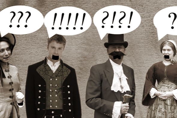 How Australian's use and speak English has evolved since the Australian English originally adopted from England.