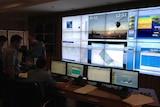 Basarnas control room
