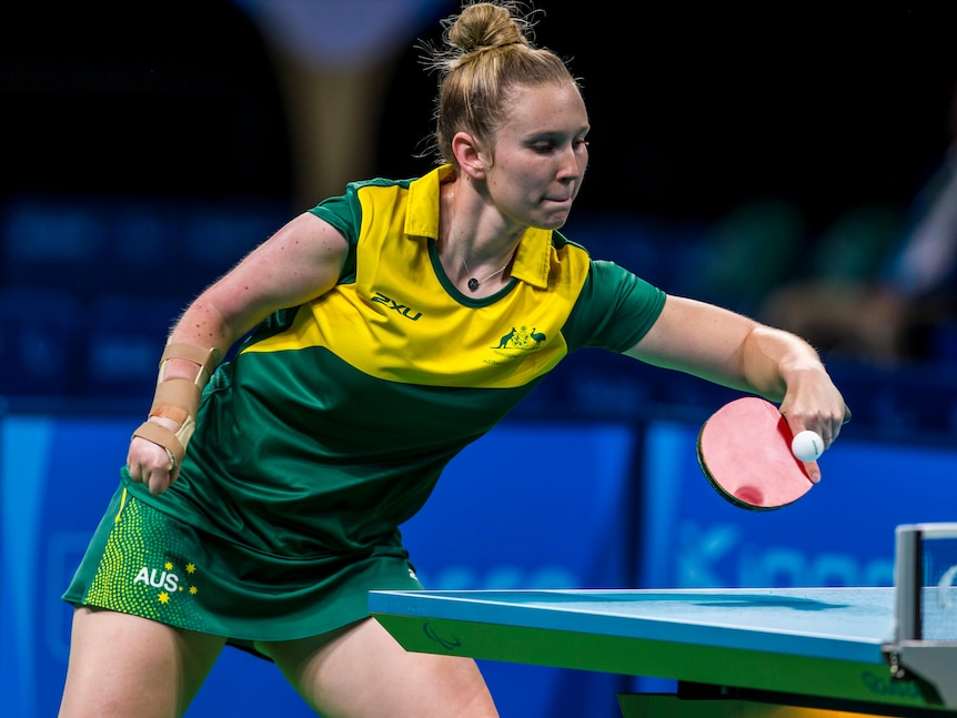 Australia's Milly Tapper targeting Tokyo Paralympics medal in table tennis