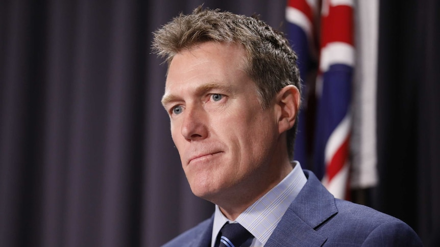 Christian Porter resigns from ministry